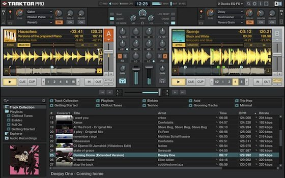 Traktor Pro interface